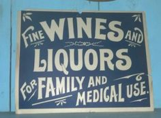 """One of my favorite old country store signs...""""for family"""" to funny"""