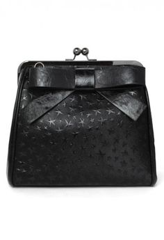 Starry and Bowknot Crossbody Bag