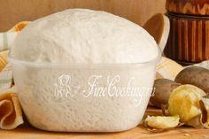 Дрожжевое картофельное тесто - рецепт с фото