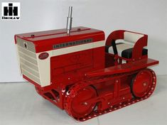 IH T-340 Pedal Crawler. How much would this be worth today? Pretty cool, they don't make cool toys like this anymore.