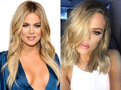 "Khloé snuck in some salon time to get the ""most wanted"" haircut for fall: the ""fashion lob."" The Kardashian-Jenner clan member debuted her new shoulder-grazing do, courtesy of celebrity hair stylist Jen Atkin, in an Instagram photo on Atkin's account. ""I kept the ends blunt and layered throughout the top for lots of movement and texture,"""