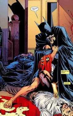 Tim Drake robin batman tim's father's death jack drake