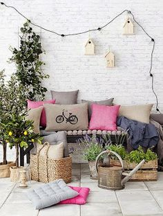 Low cost for terraces Decoration