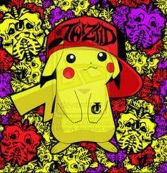 Pikachu . .Twiztid . .Wicked  clowns . . Nu5..Whoop  Whoop . .