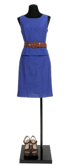 dress prefect blue