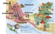 CC Cycle 1 wks. 16, 17, 18, 20  Culturas prehispánicas de Mesoamérica