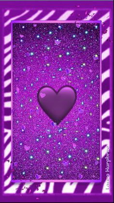 By Artist Unknown. Glitter Phone Wallpaper, Heart Iphone Wallpaper, Phone Screen Wallpaper, Wallpaper For Your Phone, Purple Wallpaper, Love Wallpaper, Cellphone Wallpaper, Iphone Wallpapers, Pretty Backgrounds