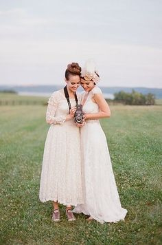 Marie Lapierre | 14 Pinterest Boards That'll Inspire Your Perfect Lesbian Wedding