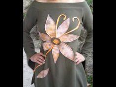 Haljina s cvijetom Brooch, Handmade, Jewelry, Hand Made, Jewlery, Jewerly, Brooches, Schmuck, Jewels