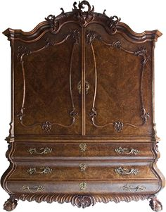 The Rococo Period began in 1720 in France. Description from antiquefurniture.com. I searched for this on bing.com/images