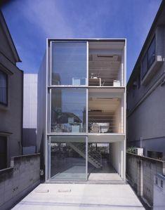 Tezuka Architects - Ohno, Steel Sheet Building, Tokyo