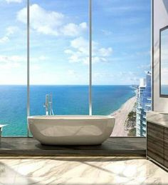 Great bath with a view