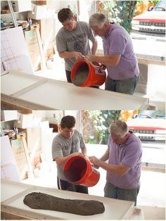 DIY Concrete Countertops - how to build forms & pour concrete correctly