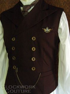 Nikola's Waistcoat of Finery by clockwork couture
