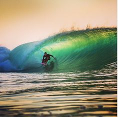 Lucky Buddha had a super fun sneaky arvo sesh with insane light and fun little drainers the other day ‪#‎secretspot‬ ‪#‎tubes‬ ‪#‎sunset‬ Pic by Mick Curley
