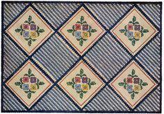 Basket Weave Rug Pattern