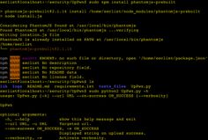 UpPwn – A script that automate detection of security flaws on websites file upload systems.