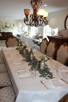 Bridal Brunch Table Setting