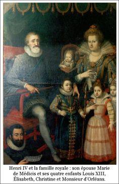 Henri IV et sa famil