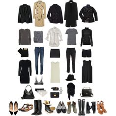 """Wardrobe Essentials"" by coffeestainedcashmere on Polyvore"
