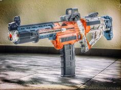 1,203 vind-ik-leuks, 32 reacties - Nerf Gun Attachments (@nerfgunattachments) op Instagram: '#NerfNation!! What's going on, guys? This is the #Nerf Maliwan Blaster by @awesomelynerf. Look at…'