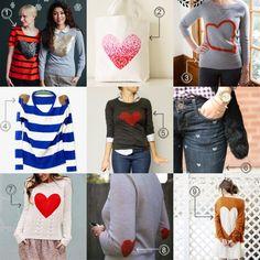 DIY Clothing & Tutorials: East Heart DIY Projects