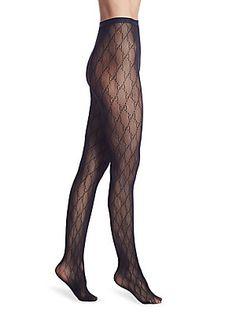 9580c7cb6ba Gucci - Black GG Supreme Stockings