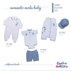 Moda Bebê | Moda Baby | Macacão | Look Para Menino