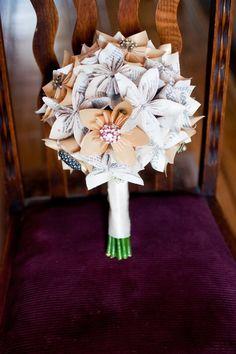 Paper Flower Bouquet | paper flower bouquet | quinceanera decor