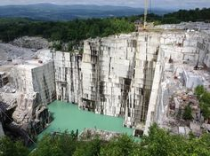Barre Town, Vermont Rock of Ages Granite Quarry