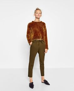 Image 1 of DARTED TROUSERS from Zara