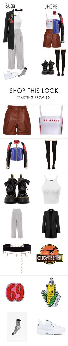 """Look, my dance is screaming out its answer"" by niceuh-papeurika ❤ liked on Polyvore featuring Marieyat, Dr. Martens, Brunello Cucinelli, Chloé, Diane Kordas, Baron Von Fancy, French Connection and Fila"