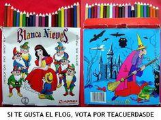 Colores Blanca Nieves