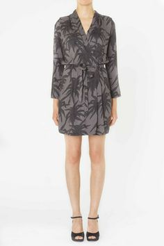 Jungle print Wrap Dress from Ganni SS 2014 collection