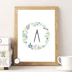 Boyish ABC poster   Customizable, printable letter poster, baby room decoration.   Digital design. Order: www.thesakura.co // Boyish ABC poszter   Személyreszabható, nyomtatható betű poszter, baba szoba dekoráció.   Digitális design. Rendelés: www.thesakura.co