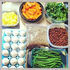 Sunday Food Prep - Try it...and watch your week go by more smoothly