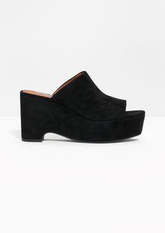& Other Stories Platform Sandals