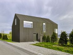 Minimalist Gottshalden House Blending With The Green Surroundings