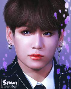 Kookie Bts, Jungkook Fanart, Jungkook Cute, Foto Jungkook, Kpop Fanart, Taekook, K Pop, Yandere Anime, Kpop Drawings