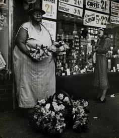 henripix: Flower Vendor 1935 Beatrice Kosofsky