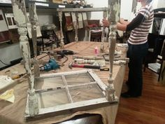 DIY salvage window coffee table http://debbedaleydesignsllc.blogspot.com/2013/10/diy-salvage-window-coffee-table.html