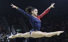 And the gold medal goes to. Laurie Hernandez (inset), Aly Raisman and Simone Biles (right) compete for Team USA's best beauty look. See how our judges ruled their hair and make-up. Usa Gymnastics Team 2016, Gymnastics Facts, Gymnastics Images, Gymnastics Posters, Gymnastics Girls, Laurie Hernandez, Simone Biles, Female Gymnast, Rio 2016