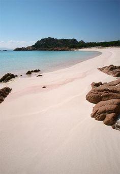 Isola di Budelli   Spiaggia Rosa