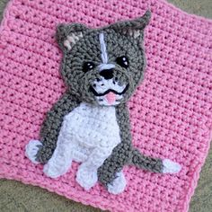 Ravelry: Pitbull Patch pattern by Jenna Wingate