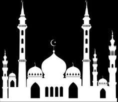 The moon has sighted,The sweets are ready,Here Eid is Come So Celebrate. Eid Crafts, Ramadan Crafts, Ramadan Decorations, Taj Mahal Sketch, Nativity Silhouette, Islam Ramadan, Ramadan Activities, Islamic Paintings, Painting Lessons