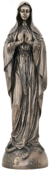 Our Lady Of Grace Religious Figurine Statue Sculpture Statuary-Home Décor-Decorations-Christian Related Gifts-Available for Sale at AllSculptures.com