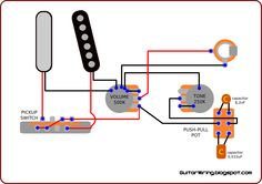 The Guitar Wiring Blog - diagrams and tips: Untypical Telecaster Wiring