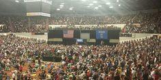 Bernie Sanders Draws His Biggest Crowd Yet In Progressive Stronghold