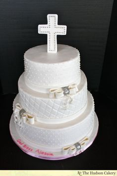 Communion Cake {Religious Cakes} | The Hudson Cakery