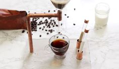 Turn Cement & Copper into an Industrial Style Coffee Maker